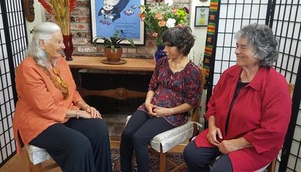 Literary Dialogs with Nina Serrano Featuring Dena and Becky Taylor