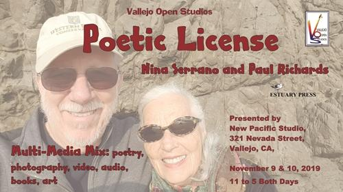 Poetic License, Open Studio with Nina Serrano and Paul Richards