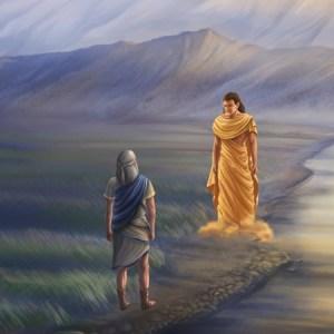 El profeta Daniel y el ángel Gabriel