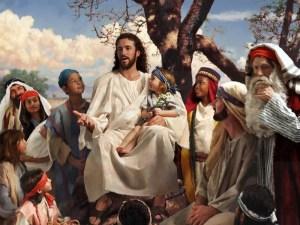 Jesús quiere enseñar a gente de todas las edades y todas clases sociales.