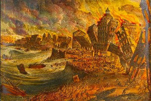 El terremoto de Lisboa.