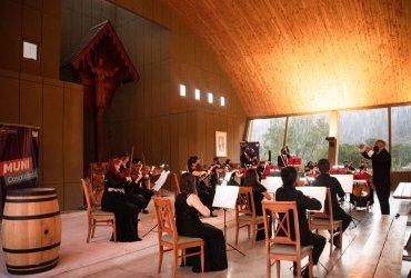 Orquesta de Cámara PUCV vuelve a presentarse con público en 8° Festival de Música de Cámara en el Valle de Casablanca