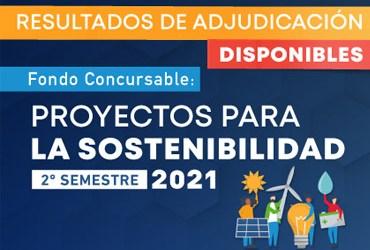 """DGVM adjudica segunda versión del Fondo Concursable """"Proyectos para la Sostenibilidad"""""""