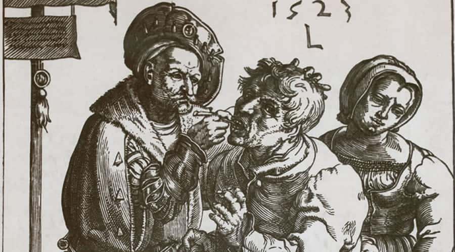 Dentista en el Edad media