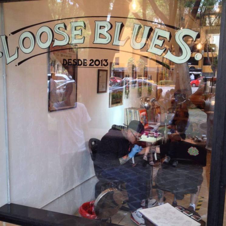 Evento de tatuajes de Loose Blues con estudio 184 Rech