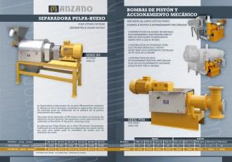 Página interior catálogo maquinaria