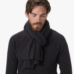 James Perse Cashmere Scarf Closeup, $295