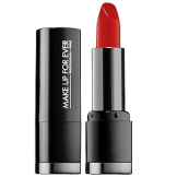 Make Up Forever Intense Lipstick Satin Vermillion Red, $20