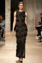 New York Fashion Week Trends Evening Gowns Sally LaPointe