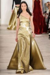 New York Fashion Week Trends Evening Gowns Ralph Lauren