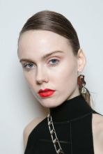 New York Fashion Week Trends Red Lips Schouler