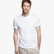 James Perse Short Sleeve Crew Neck White, $60