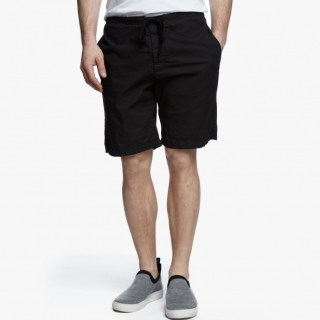James Perse Stretch Poplin Short Black, $175