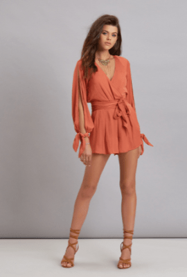 Shifting Sands Romper by Bec&Bridge, $260