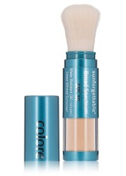 Colorescience Sunforgettable Brush-On Sunscreen SPF30 Medium Shimmer, $57