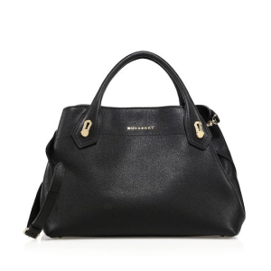 Burberry The Milton Medium Satchel Black, $2,295