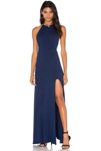 De Lacy Nikki Maxi Dress Blue, $123