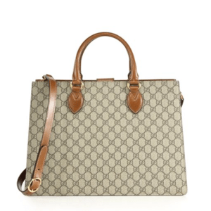 Gucci Supreme Large Top-Handle Bag, $2,490