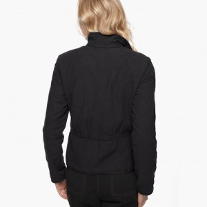 James Perse Brushed Italian Cotton Jacket Abyss Back, $395