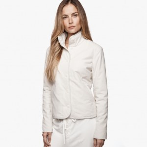 James Perse Brushed Italian Cotton Jacket Vintage, $395