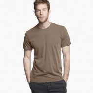 James Perse Short Sleeve Crew Neck Army Green, $60