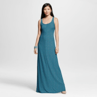 Merona Striped Maxi Dress Xavier Navy, $29.99