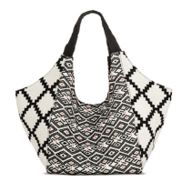 Mossimo Macrame Handle Hobo White, $34.99