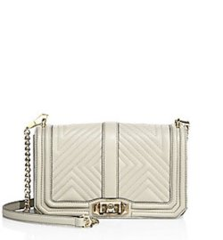 Rebecca Minkoff Love Quilted Leather Crossbody Bag, $295