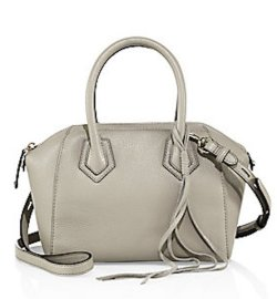 Rebecca Minkoff Micro Perry Leather Satchel, $295