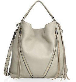 Rebecca Minkoff Moto Leather Hobo Bag, $325