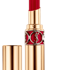 YSL Rouge Volupte Shine 36 Rouge in Rock, $37
