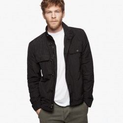 Yosemite Water Repellent Field Jacket Black, $475
