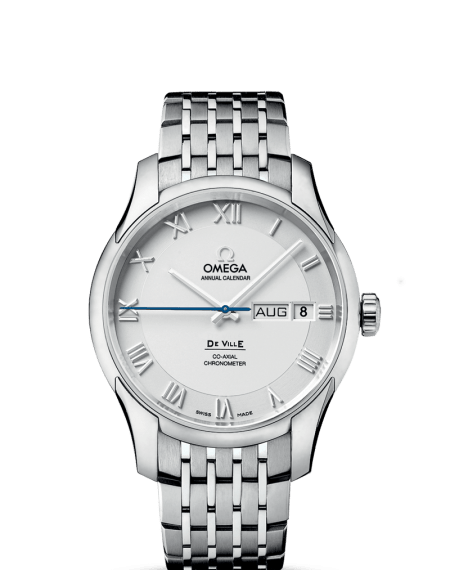 Omega DeVille Annual Calendar Luxury Watch $6,175 from $10,400