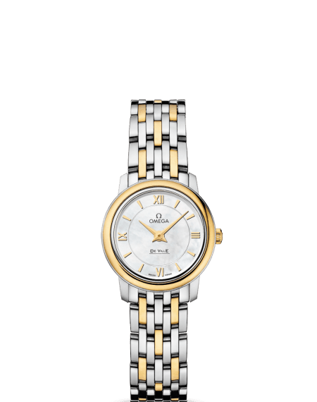 Omega DeVille Quartz Gold & Stainless Watch $3,075 from $4,600