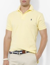Ralph Lauren Polo Classic Fit Mesh Wicket Yellow, $85