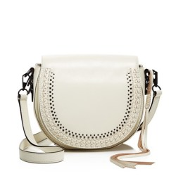 Rebecca Minkoff Astor Saddle Bag Antique White, $325