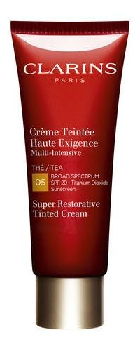 Clarins Super Restorative Tinted Cream SPF20 05 Tea, $84