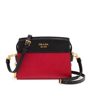 Prada Esplanade Mini Crossbody Red, $1,480
