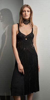 Ralph Lauren Collection Fringe Crochet Dress, $1,890