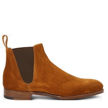 Edward Green Newmarket Suede Chelsea Boot $1,415