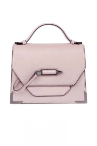 Mackage Keeley Dual Leather Shoulder Bag Blush, $450