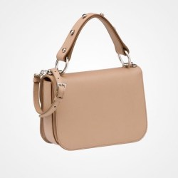 Prada Calf Leather Arcade Bag Camel $2,750