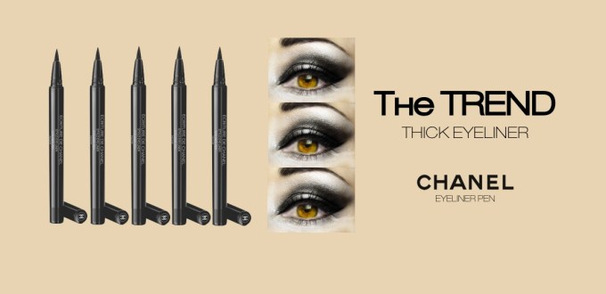 The Beauty Trend Thick Eyeliner Chanel Eyeliner Pen