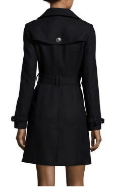 Burberry Gibbsmoore Single Breasted Coat $1,095