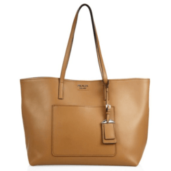 Prada City Leather Tote Caramel, $1,390