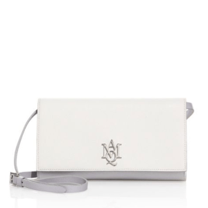 Alexander McQueen Leather Insignia Crossbody Pouch $695