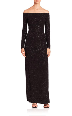 Bailey 44 Julia Sequined Gown Back $228