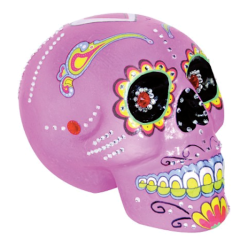 Day of the Dead Pink Sugar Skull $21