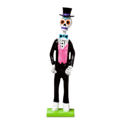 Day of the Dead Skeleton Figurine $8