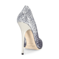 Jimmy Choo Romy 100 Glitter Degrade Point-Toe Pumps $675